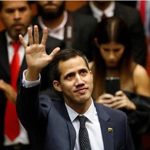 Гуаидо пообещал поступление гуманитарной помощи для Венесуэлы 23 февраля