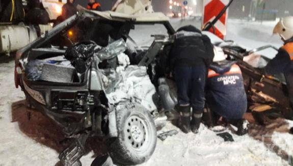 Четыре девушки погибли в результате  ДТП на трассе в Татарстане