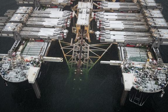 «Газпром» уже построил треть газопровода «Северный поток — 2»