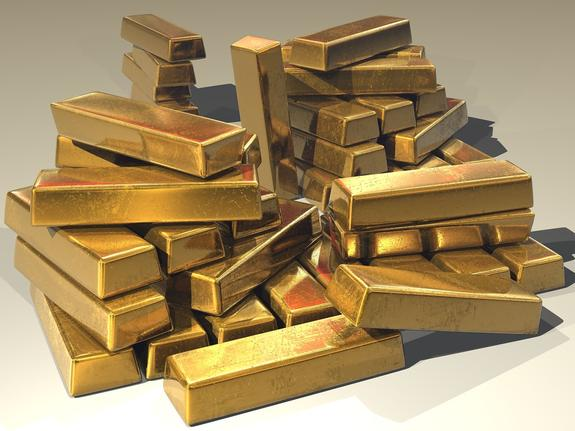 Золотой запас в России достиг рекордного размера