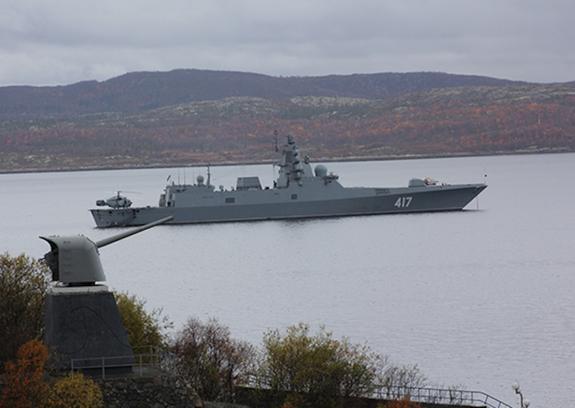 """СМИ рассказали о новом оружии фрегата """"Адмирал Горшков"""", которое может вызывать галлюцинации"""
