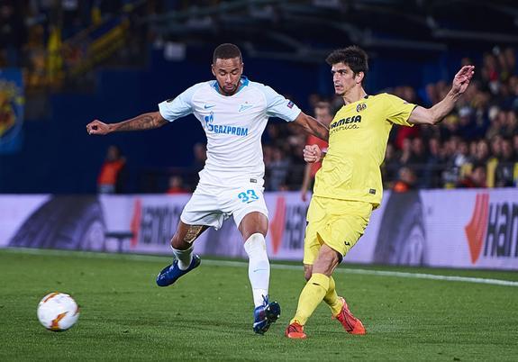 И «Зенит» закончил выступление в финале Лиги Европы, проиграв со счетом 2:5