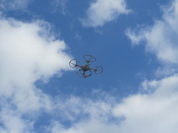 Российские учёные создали дрон-беспилотник, заряженный автоматическим карабином