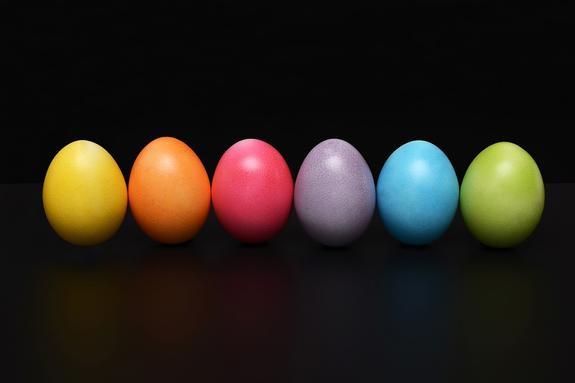 Как выбрать яйца для Пасхи
