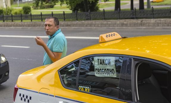 Услуги такси в Симферополе резко возросли в связи с приездом Путина