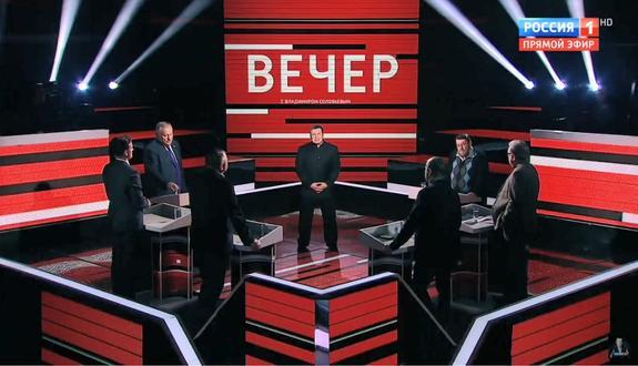 Комедия абсурда на российском ТВ. Политолог пересказал известный фильм, выдав его за исторический факт