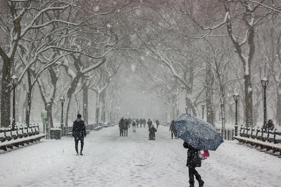 Синоптики обещают Москве мощный снегопад на предстоящей неделе