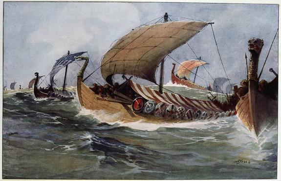 Норвежские археологи обнаружили «корабль мертвых» эпохи викингов