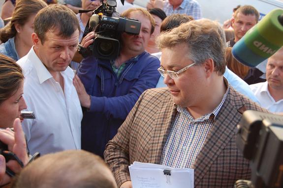 Голодающие ветераны требуют отставки губернатора Ставрополья