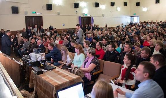 Областные чиновники пообещали населению всевозможные блага