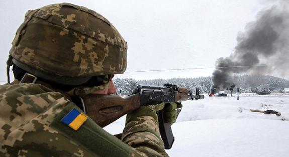ВСУ в Донбассе приведены в высшую степень боевой готовности