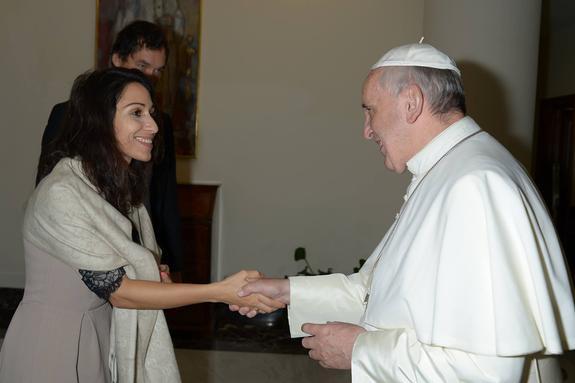 Российской  оперной  певице Светлане Касьян рыцарский орден вручит папа Римский в Ватикане