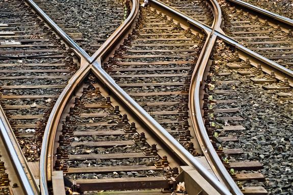 В Ростовской области взорвался товарный поезд из Луганска