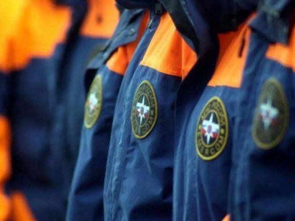 Спасатели из Москвы-реки достали человека
