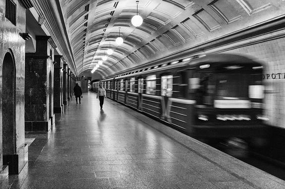 5 самых опасных станций метро в Москве назвала полиция