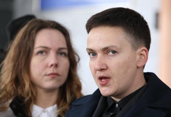 Надежда Савченко огласила условие начала войны и народного восстания на Украине