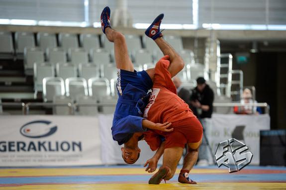 На Кипре завершилось первенство Европы по самбо
