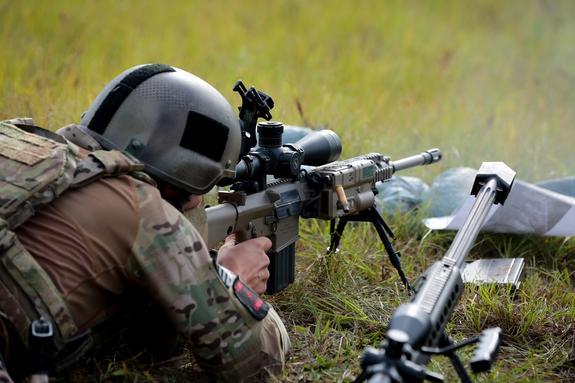 Видео ликвидации украинским снайпером пулеметчика ДНР обнародовал офицер ВСУ