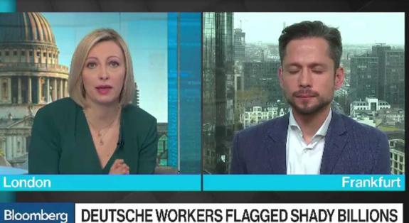 Названный русской прачечной Deutsche Bank опасается давления