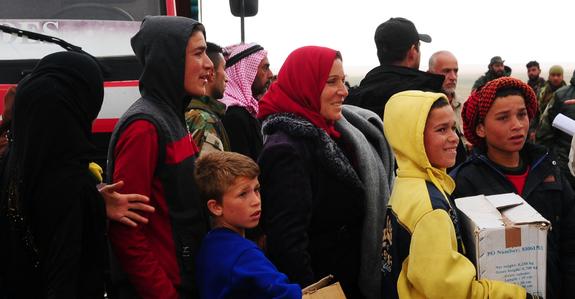 Беженцев из Сирии планируют отправить в Крым