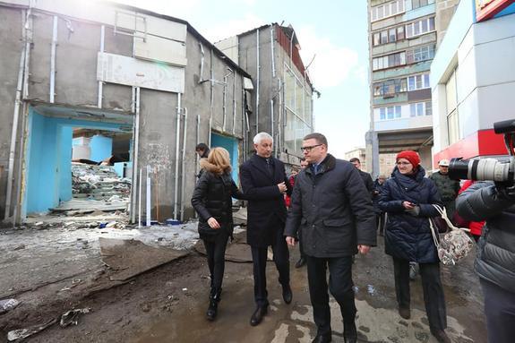 В Магнитогорске активизировали работу по расселению пострадавшего от взрыва дома