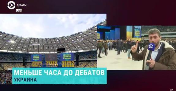 Сцена Порошенко заставила ведущего Зеленского плясать под свою дудку