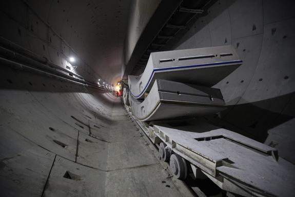 Руслан  Байсаров: Работы по строительству второй нитки Байкальского тоннеля  завершаются