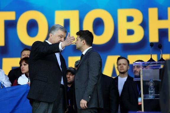 Порошенко не отважился огласить данные СБУ о связях Зеленского с Коломойским