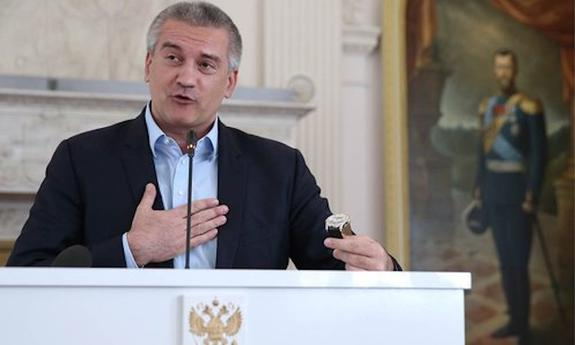 Сергей Аксенов  призвал  жителей Италии выдвинуть его кандидатом в  Европейский парламент