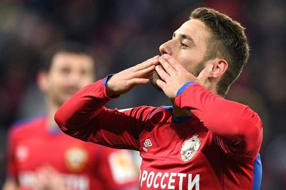 «Локомотив» - ЦСКА -  ничья 1:1