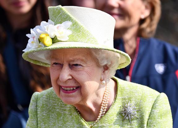 Королева Елизавета II сегодня празднует день рождения