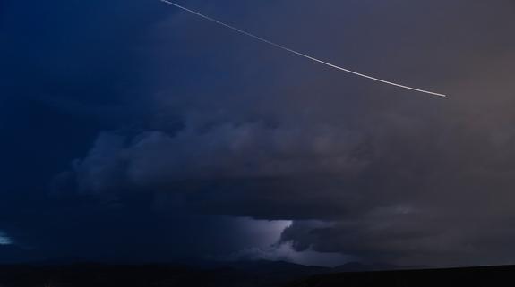 В сеть попало видео падения метеорита в Нижегородской области