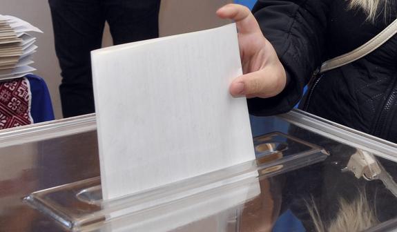 Один избирательный участок не открылся на Украине
