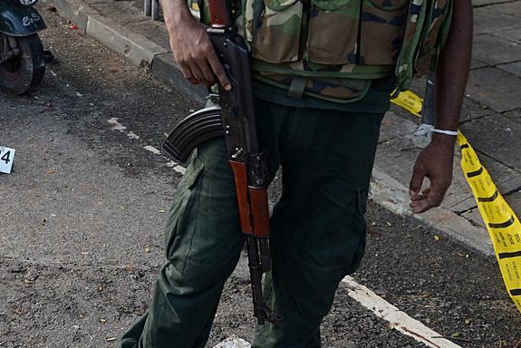 На Шри-Ланке произошел восьмой за день взрыв