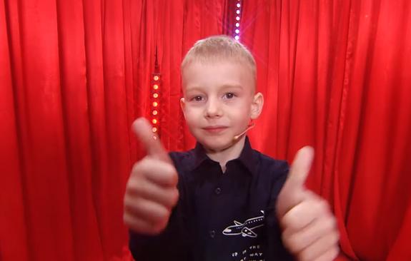 Пятилетний ребёнок заработал 120 тысяч, пошутив про Зеленского