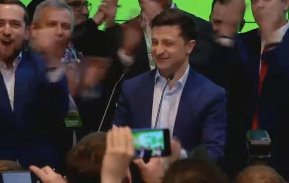 У Зеленского уже больше 73% голосов