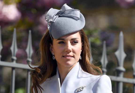 Герцогиня Кейт продемонстрировала безупречное чувство стиля на пасхальной службе