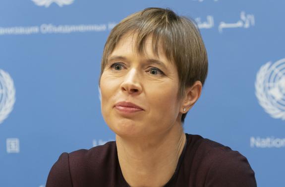 Президент Эстонии считает, что встреча с Путиным выведет страну на новый уровень