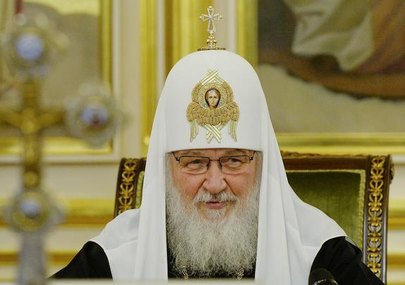 Патриарх Кирилл поздравил Зеленского с победой на выборах президента Украины