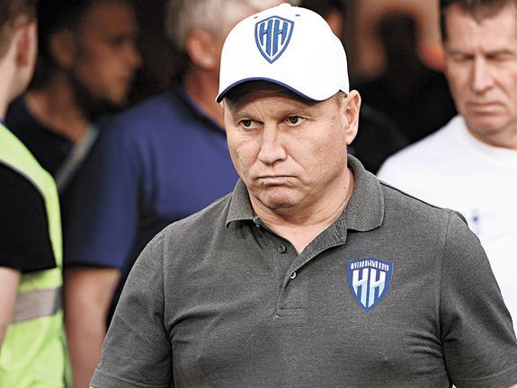 Главный тренер ФК «Нижний Новгород» Дмитрий Черышев