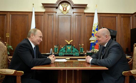 Путин принял нового губернатора Севастополя