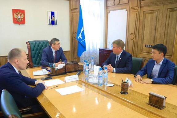 Лимаренко встретился с народными избранниками