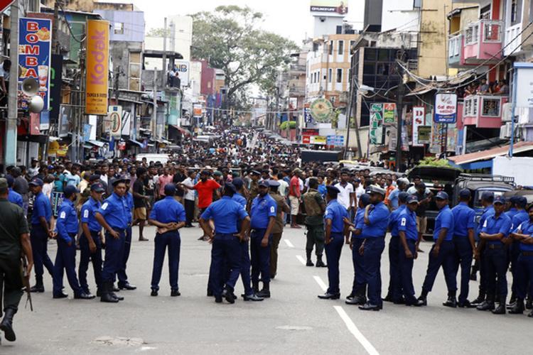 На Шри-Ланке задержаны главные подозреваемые в терактах