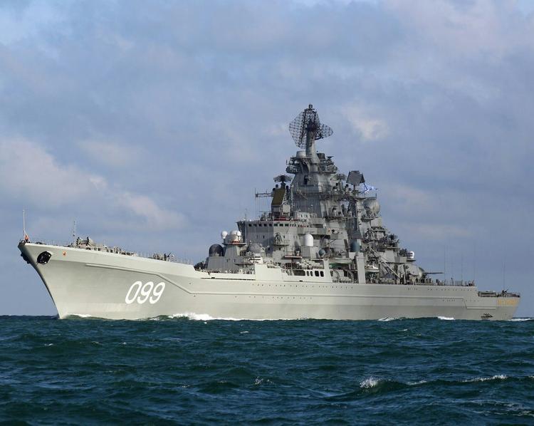 Российский адмирал прокомментировал оценку США  aтомного  крейсера ВМФ РФ «Aдмирaл Нaхимов»