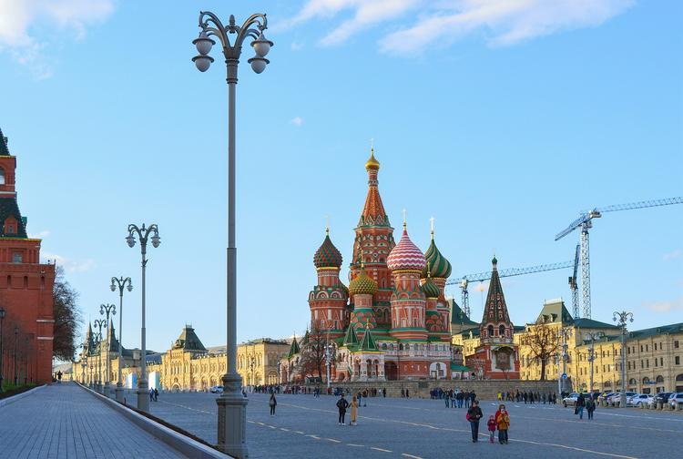 До 9 мая закрыт вход на Красную площадь