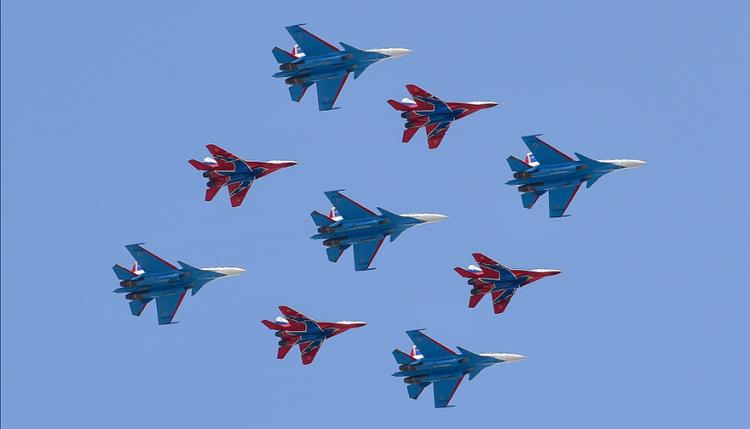 В Москве могут сократить Парад Победы из-за плохой погоды