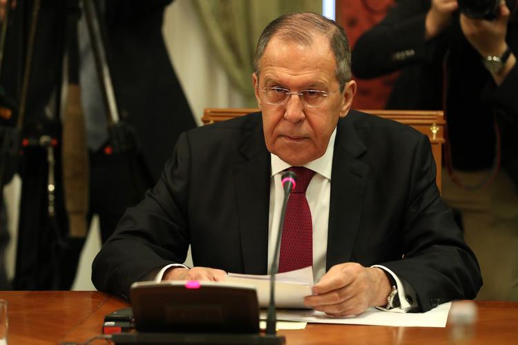 Лавров передал Помпео меморандум о вмешательстве Вашингтона во внутренние дела России