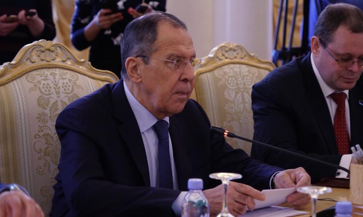 Лавров: Россия не станет игнорировать агрессию со стороны США