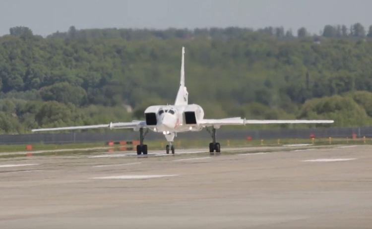 Опубликовано видео испытаний бомбардировщика Ту-22М3М