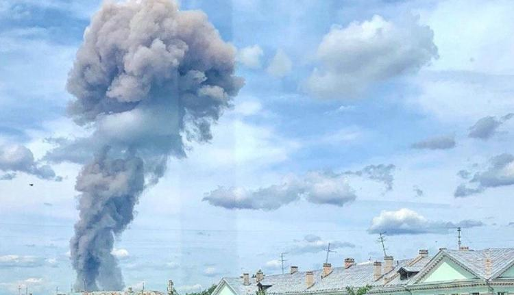 В  Дзержинске  на заводе в цехе по производству тротила прогремел взрыв